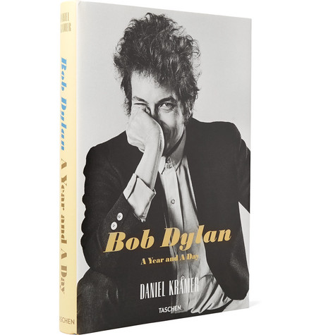 Taschen Bob Dylan: A Year and a Day Hardcover Book