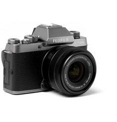 Fujifilm - X-T100 Camera With XC15-45mm Lens