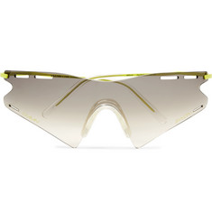 CMMN SWDN + Ace & Tate LeMond Square-Frame Metal and Acetate Sunglasses