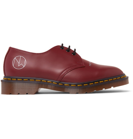 Undercover Shoes + DR. MARTENS 1461 PRINTED LEATHER DERBY SHOES