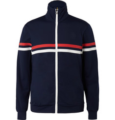 Iffley Road Petersham Slim-Fit Striped Track Jacket