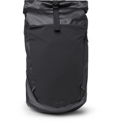 Peckham Canvas And Mesh Backback - Black