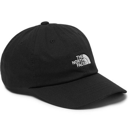 THE NORTH FACE | The North Face - The Norm Logo-embroidered Cotton-blend Twill Baseball Cap - Black | Goxip