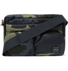 Porter-Yoshida & Co - Camouflage-Print Shell Messenger Bag