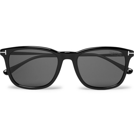 Square Frame Acetate Polarised Sunglasses by Tom Ford