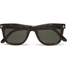 cf7b45cd7b TOM FORD D-Frame Tortoiseshell Acetate Polarised Sunglasses