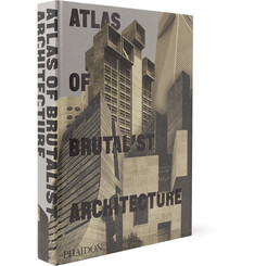 Phaidon - Atlas of Brutalist Architecture Hardcover Book