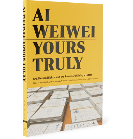 Ai Weiwei: Yours Truly Hardcover Book by Abrams