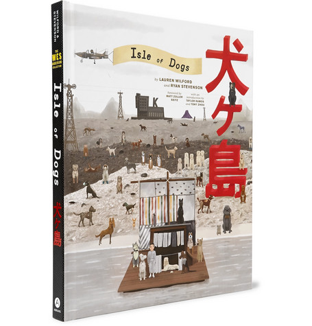 ABRAMS The Wes Anderson Collection: Isle Of Dogs Hardcover Book in White