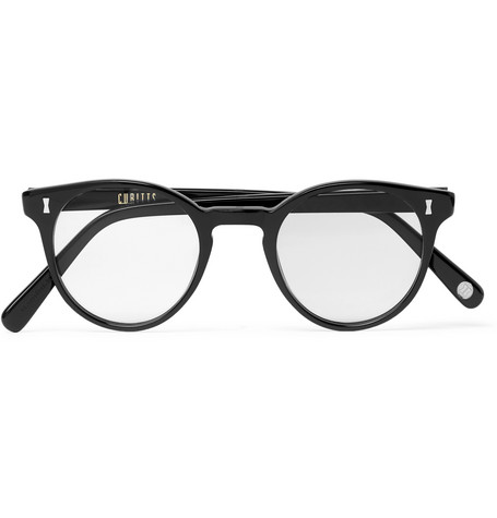 Round Frame Acetate Optical Glasses by Cubitts