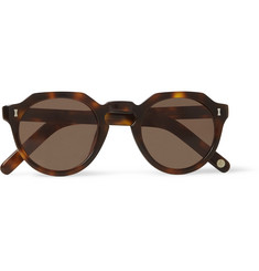 15d348d818a Cubitts Cromer Round-Frame Tortoiseshell Acetate Sunglasses · Cubitts