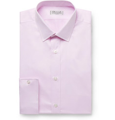 Charvet Lilac Cotton-Piqué Shirt
