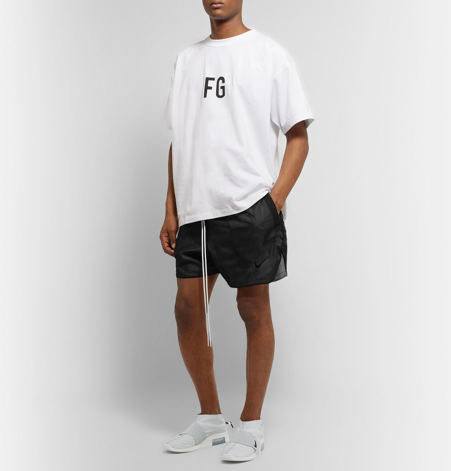0fefcb87 Nike - + Fear of God Air 1 Moccasin Ripstop Sneakers