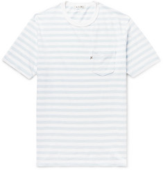 Alex Mill Slim-Fit Striped Slub Cotton-Jersey T-Shirt