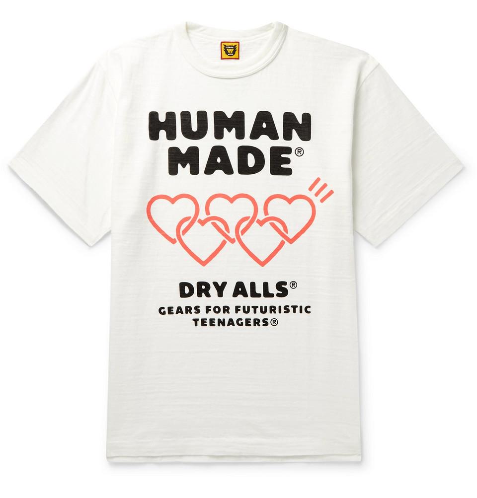 Logo-print Slub Cotton-jersey T-shirt - White