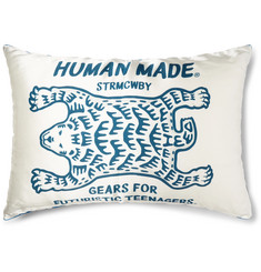 Human Made Polar Cord-Trimmed Printed Satin Cushion