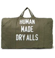 Human Made - Printed Cotton-Canvas Holdall