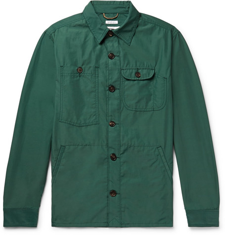 Freemans Sporting Club Cotton and Nylon-Blend Overshirt