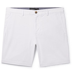 Club Monaco Maddox Pinstriped Cotton Shorts