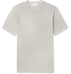 Officine Generale Striped Cotton-Blend T-Shirt