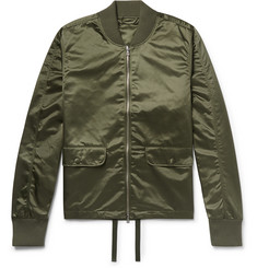 Officine Generale Satin Bomber Jacket