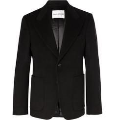 SALLE PRIVÉE Black Astor Slim-Fit Cashmere Suit Jacket