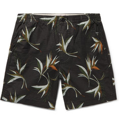 J.Crew Printed Cotton-Ripstop Drawstring Shorts