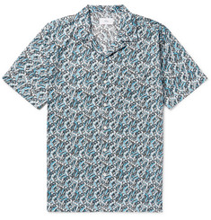 Onia - + Liberty London Vacation Camp-Collar Printed Cotton-Poplin Shirt