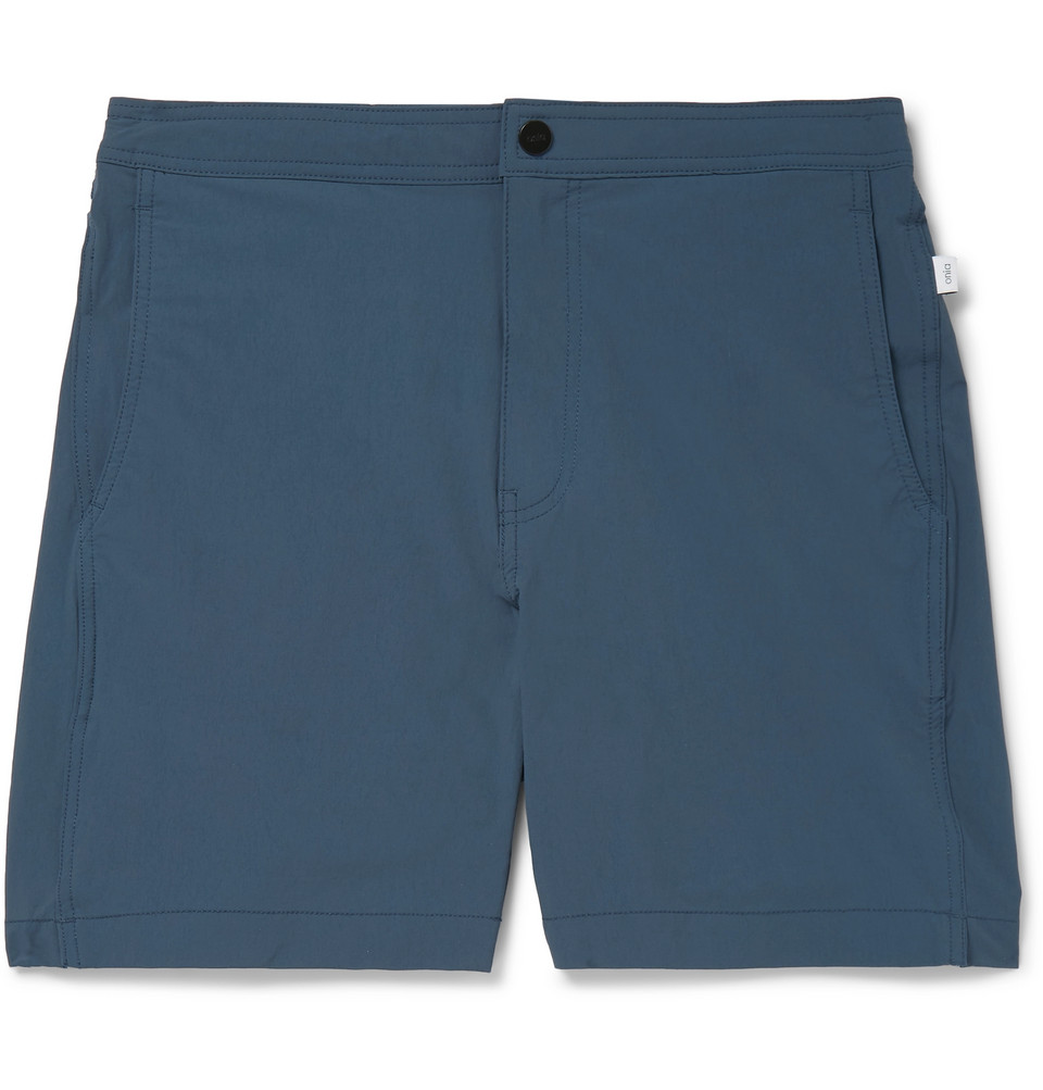 Calder Mid-length Swim Shorts - Navy