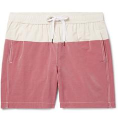 d39426cd88674 Onia - Charles Mid-Length Colour-Block Cotton-Blend Swim Shorts