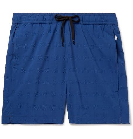 ccb9eb93b0 Onia - Charles Mid-Length Seersucker Swim Shorts