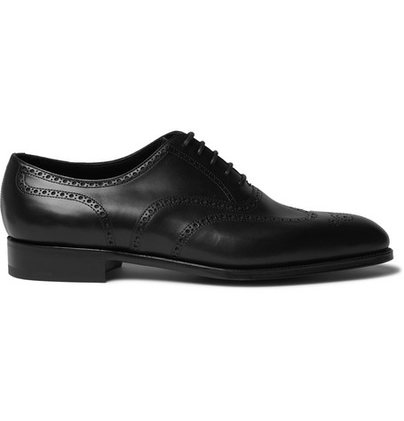 Edward Green Shoes INVERNESS LEATHER WINGTIP BROGUES