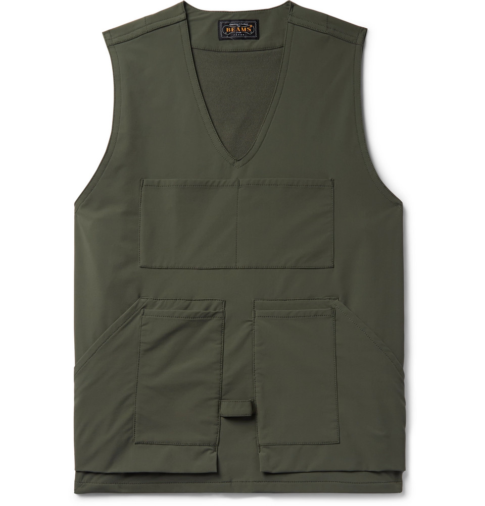 Shell Gilet - Army green