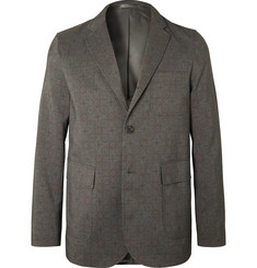Beams Plus Unstructured Printed Woven Blazer