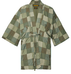 Neighborhood Oversized Patchwork Cotton Jacket