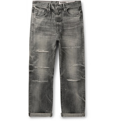 Neighborhood Claw Distressed Selvedge Denim Jeans