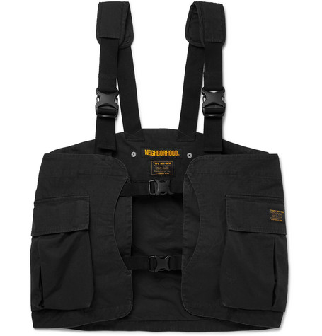 Cotton Ripstop Cargo Vest by Neighborhood