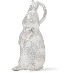 Sterling Silver Rabbit Pendant - Silver