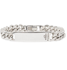 Bunney Single Tour Sterling Silver ID Bracelet