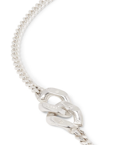 Sterling Silver Chain Necklace by Bunney