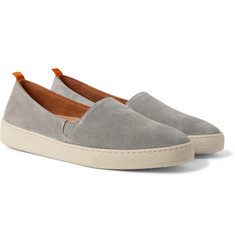 Mulo - Suede Slip-On Sneakers
