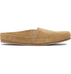 Mulo - Suede Backless Loafers