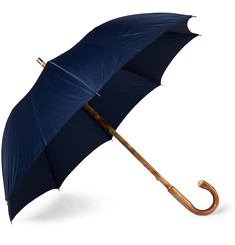 Francesco Maglia Lord Chestnut Wood-Handle Umbrella