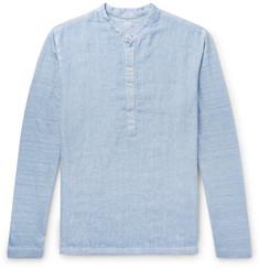 838355aa8f2 120% - Linen Henley T-Shirt