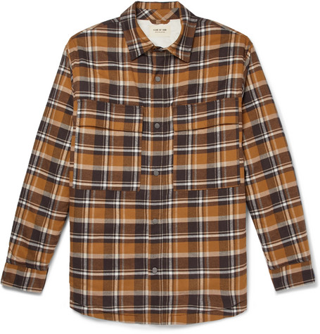 Fear Of God Tops CHECKED COTTON