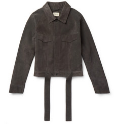 Fear of God Suede Trucker Jacket