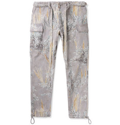 Fear of God Tapered Printed Denim Cargo Trousers