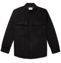 Fear of God Oversized Faux Suede Padded Primaloft Overshirt