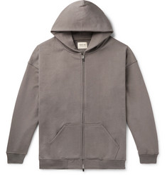 Fear of God Oversized Loopback Cotton-Jersey Zip-Up Hoodie