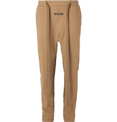 Fear of God Tapered Nylon-Trimmed Loopback Cotton-Jersey Sweatpants